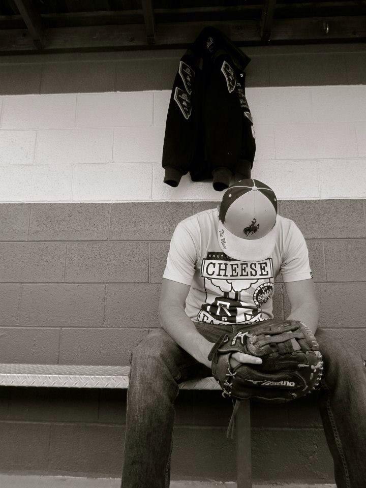 Baseball senior pictures.