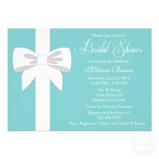 17 Best images about Blank Bridal Shower Invitations – Blank Wedding Shower Invitations