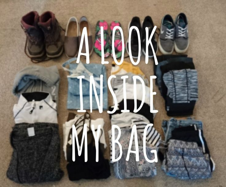 What's Inside My Bag? Take a look at what I have a packed for a 4 months solo trip across Europe. #whatsinmybag #backpacking #pack #packing #clothing #footwear #travel #wanderlust #blog #bag #take #wear #shoes #blogger #solotravel #traveller
