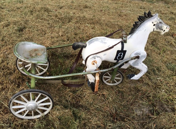 Hi, I have bought this toy two months ago. I have made a restoration and horse is in great shape now. Can anyone help me to find out where and when was ...