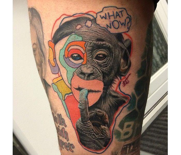 これまでたくさんの、前衛的でアーティスティックなタトゥーを紹介してきましたが…