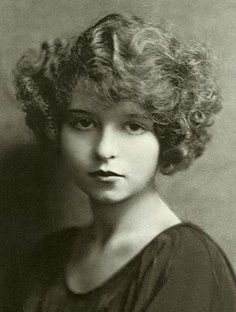 A very young Mae West