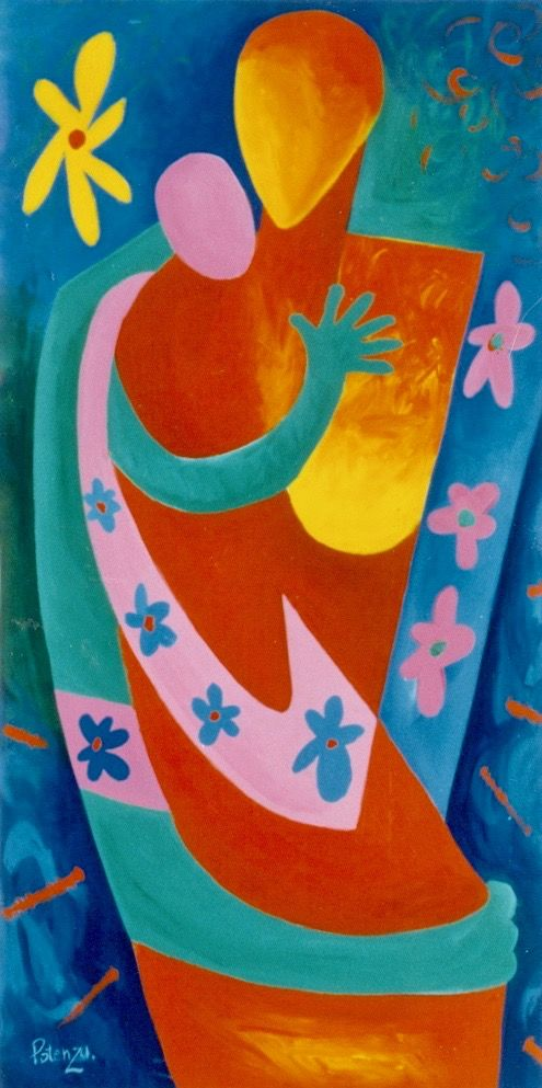 Mother and Child  www PotenzaArt com new products. 10 best paintings images on Pinterest   Easy acrylic paintings