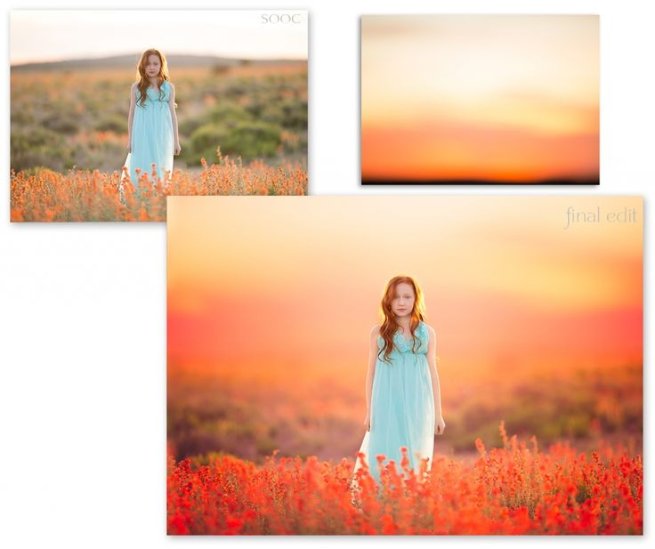 Photo composition coucher de soleil