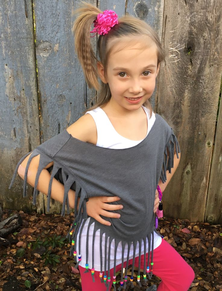 """Are you looking for a quick and inexpensive Halloween costume? Or maybe you are attending an 80's themed party. Well, look no further! Recently, my daughter had """"time warp"""" day …"""