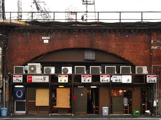 神田の赤煉瓦高架