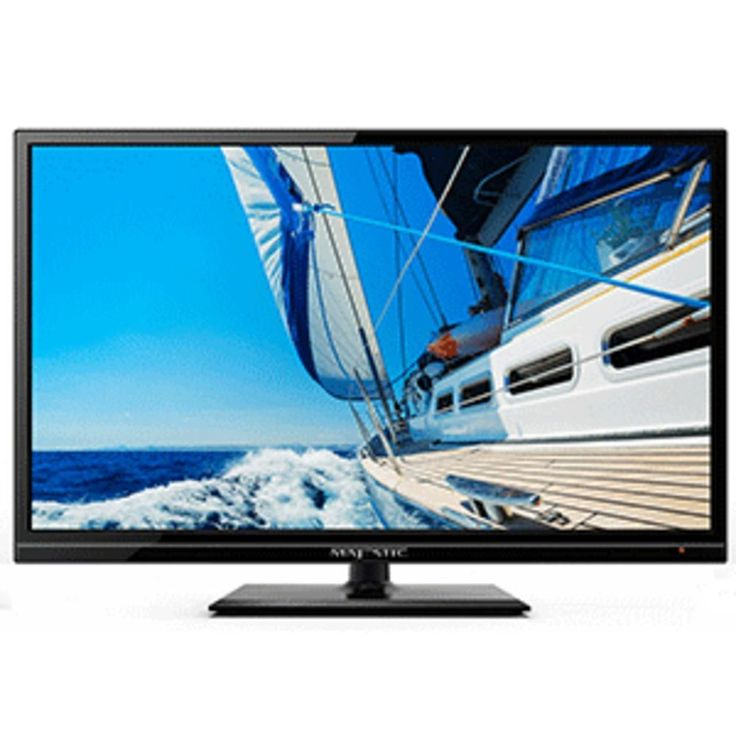 Majestic 19 LED 12V HD TV w-Built-In Global Tuners - 2x HDMI