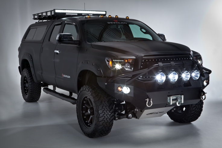 Could this be the next tundra for EF? toyota tundra devolro will turn the night into day with this light kit <3
