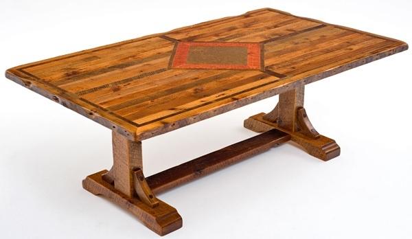 Barnwood furniture timber frame design 4 shown with for Dining table frame design