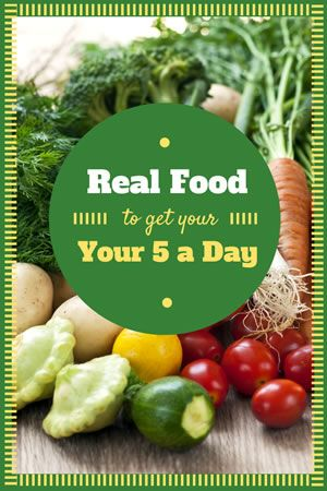 5 a day vegetables