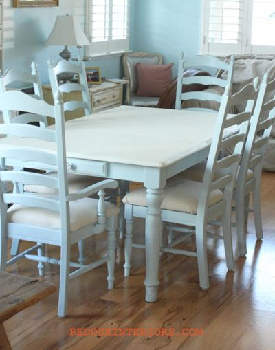 kitchen table makeovers