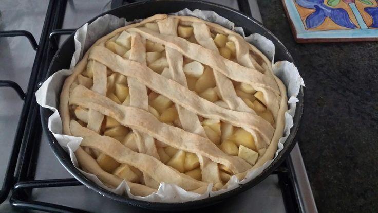 Crostata di mele 😊😊