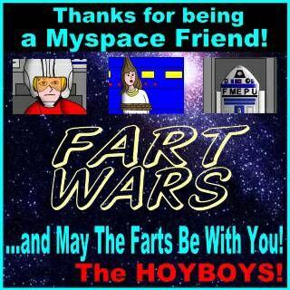 Fart Wars Poster