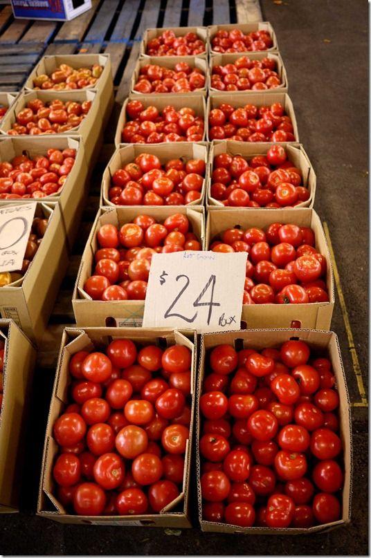 Tomatoes, Sydney Markets