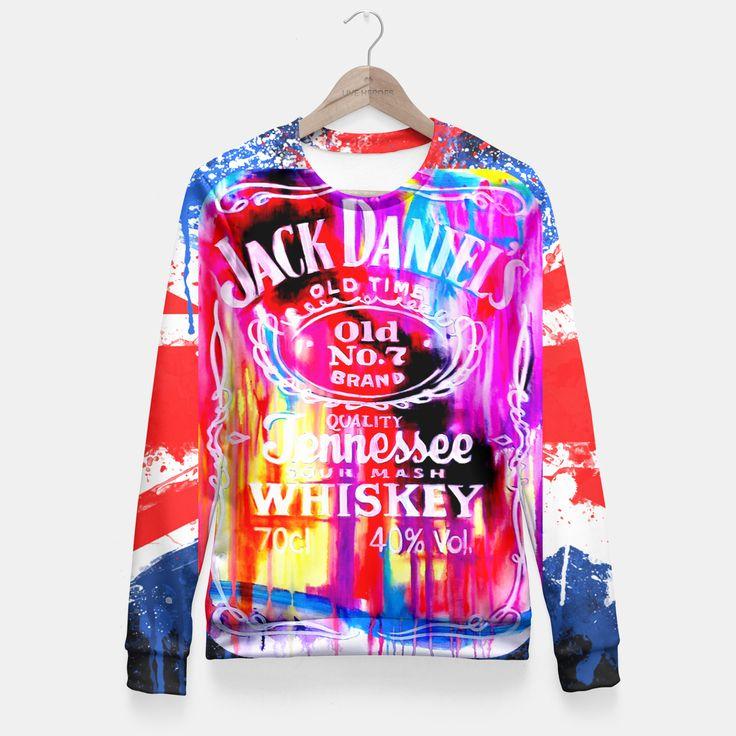 Jack Daniel's Sudadera entallada by LJ. Fashion Design Art 29.95€