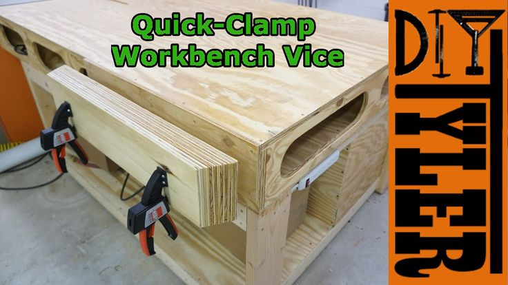 Quick-Clamp Vice for the Workbench