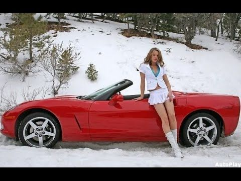 pic Corvette girls hot sexy on cars