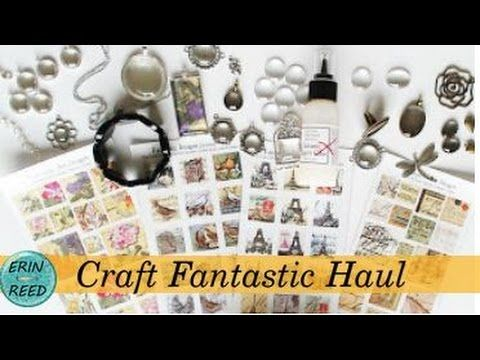 Craft Fantastic Haul - Metals, Jewelry, Jewelers Glass, and more!!
