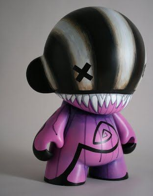 munny   custom munny by doktor a via see custom doktor a toys here buy doktor ...