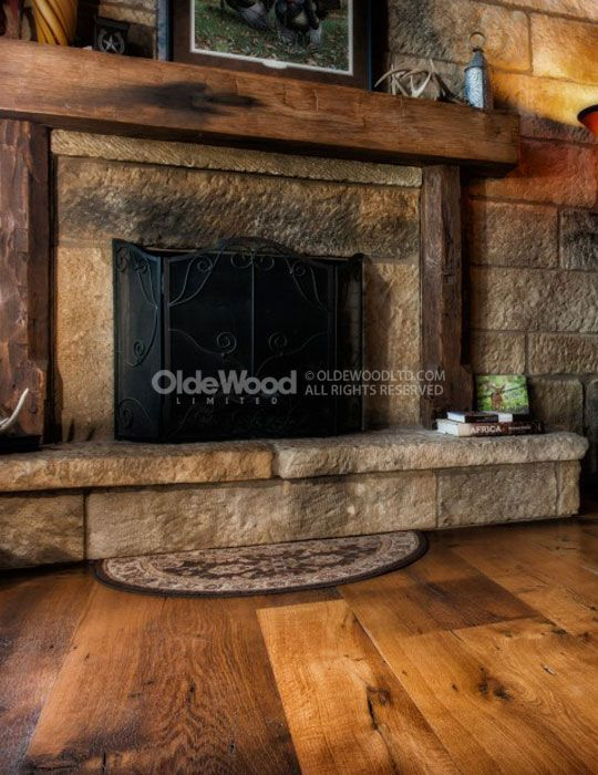 Best 25 reclaimed fireplaces ideas on pinterest for Rustic mantels for stone fireplaces