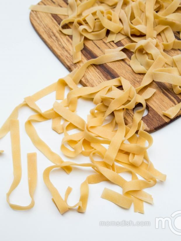 Easy Homemade Pasta, no pasta machine needed. You will never go to boxed pasta again.
