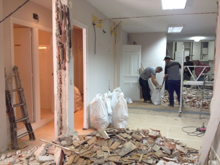 SNOB WORKS REFORMA INTEGRAL VIVIENDA CALLE GOYA MADRID Proceso Reforma