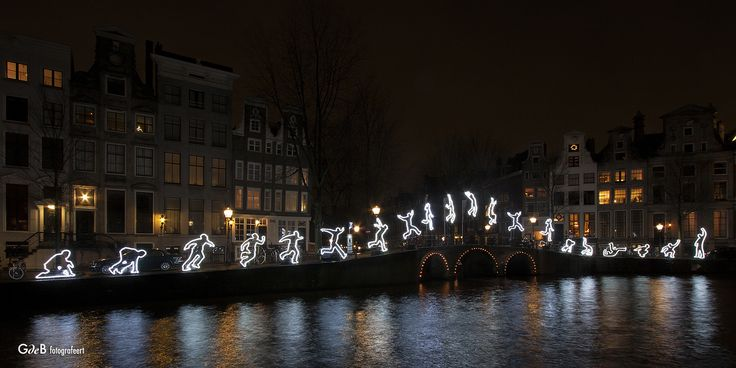 https://flic.kr/p/Bwc6mc | Run Beyond | created by Angelo Bonello #amsterdamlightfestival