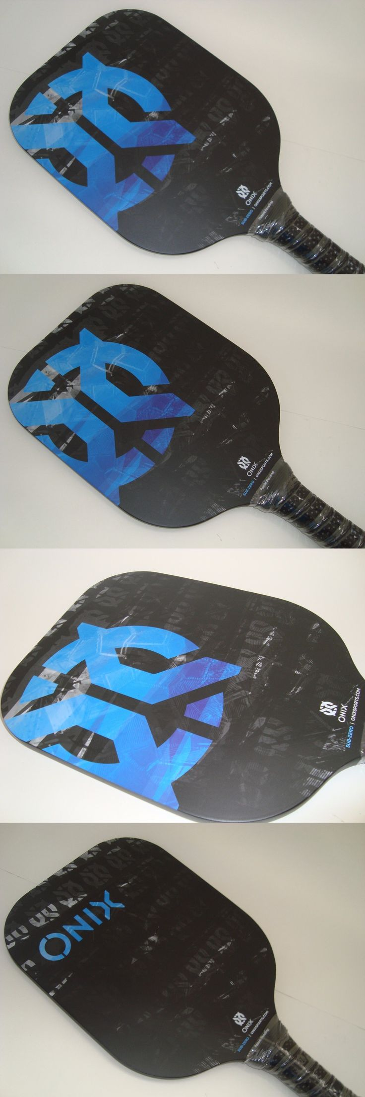 Other Tennis and Racquet Sports 159135: Super New Onix Sub-Zero Pickleball Paddle Black Light Strong Carbon Fiber Black -> BUY IT NOW ONLY: $109.99 on eBay!