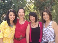 The Joy Luck Club 1993 - The daughters 20 years later: Tamlyn Tomita, Rosalind Chao, Lauren Tom and Ming-Na Wen