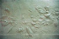 Phù điêu composite hoa sen việt MS19