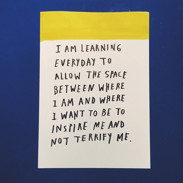 """""""I am learning everyday to allow the space between where I am and where I want to be to inspire me and not terrify me."""" -Tracee Ellis Ross"""