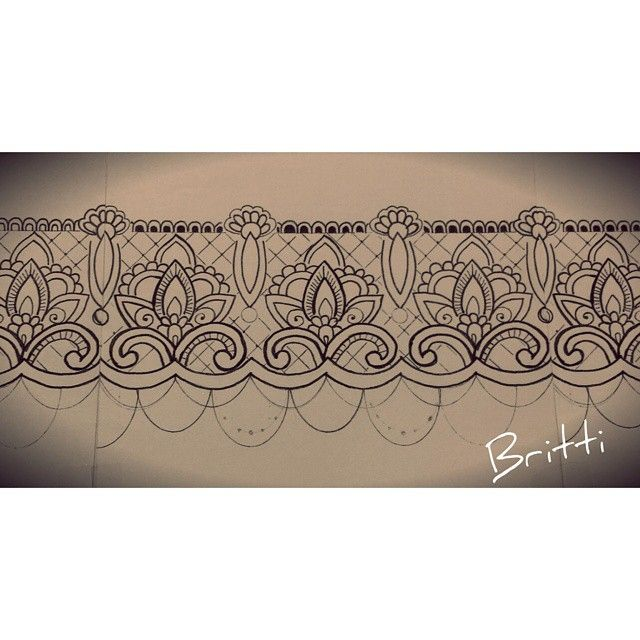 mandala garter tattoos - Google Search
