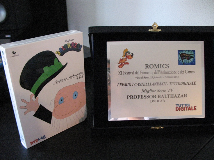ROMICS 2011 And the winner is... #ProfessorBalthazar!
