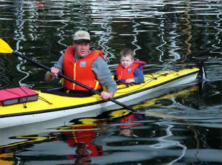 How to kayak with kids/children