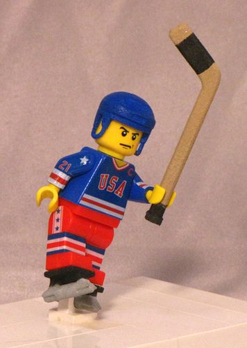 My kids have tons of Legos but I swear I've never seen any sports related ones in our house, darn it!