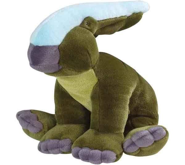 Llévate a casa este dulce peluche de parasaurolofus para que se convierta en el mejor compañero de juegos de tu hijo. Material suave y de primera calidad para los más pequeños. Brillante colorido para despertar su imaginación. Has visto nuestros otros peluches de pteranodon, tiranosaurio rex, triceratops, estegosaurio y diplodocus? Medida: 40 cm PVP: 16€ http://www.tododinosaurios.com/es/i268/parasaurolofus-de-peluche