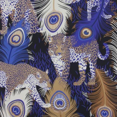 Papier peint Leopardo Osborne & Little vu dans la presse à retrouver sur Selectionnist.com