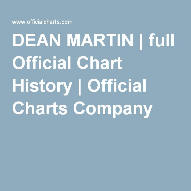 DEAN MARTIN | full Official Chart History | Official Charts Company