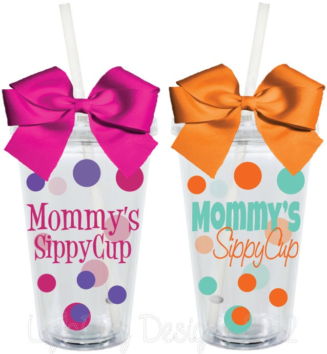 Mommy S Sippy Cup Personalized 16oz Acrylic Tumbler 15