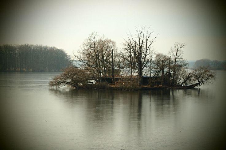 ostrůvek na rybníku Svět, Třeboň