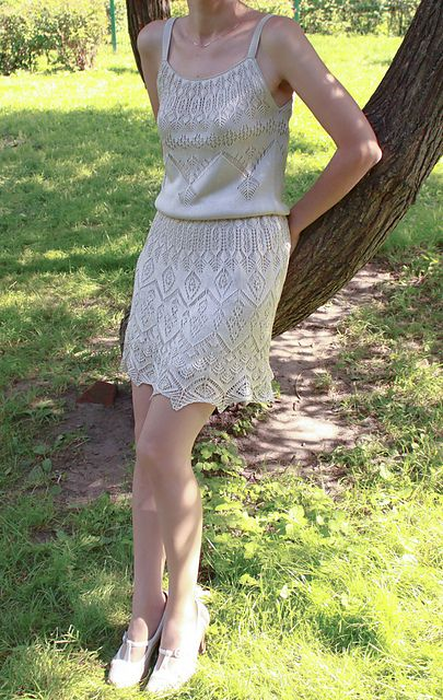 Ravelry: Tunic-dress from Heirloom Knitting pattern by Lacelegance