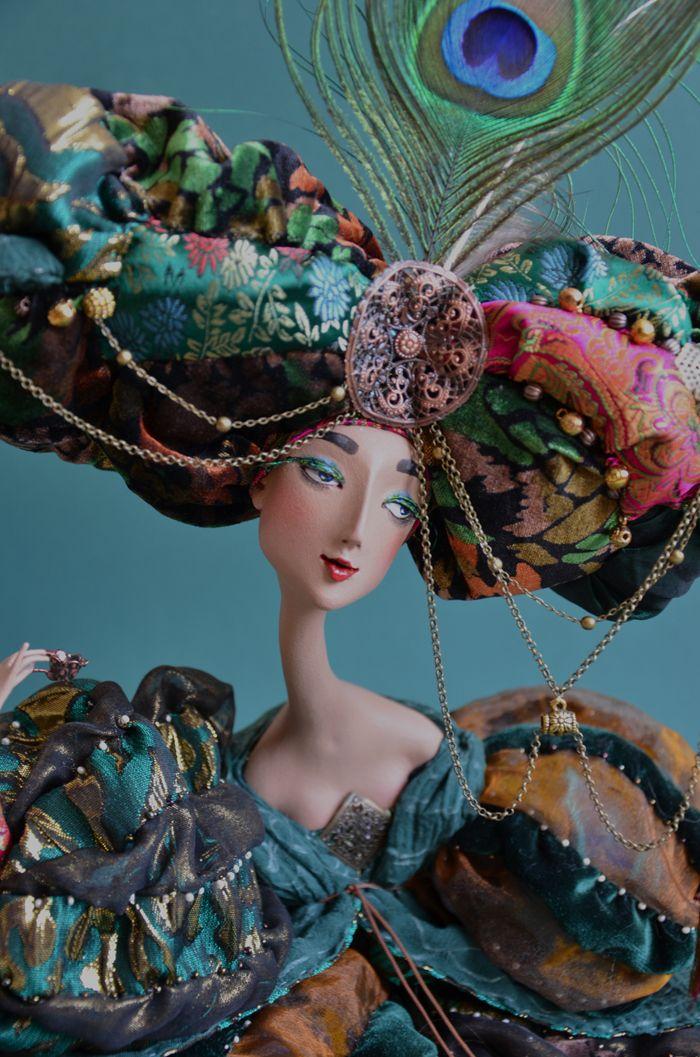 Art doll by Lada Repina