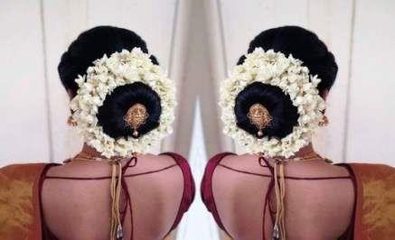 Hindu bridal hairstyles low buns 58+ Ideas