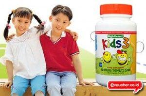 Berikan Asupan Nutrisi Yg Lengkap Untuk Anak Anda Dgn HDI KIDS 3 Diperkaya Dengan Vit C Hanya Rp. 235,000 (60 tablet) - www.evoucher.co.id #Promo #Diskon #Jual  Klik > http://www.evoucher.co.id/deal/HDI-KIDS-3  HDI Kids 3 khusus dikembangkan untuk memenuhi kebutuhan anak-anak dewasa ini. Dengan formulasi unggul dari royal jelly, bee pollen, propolis, dan diperkaya dengan vitamin C untuk memberikan anak-anak Anda semua nutrisi penting yang dibutuhkan tubuh mereka, dengan r