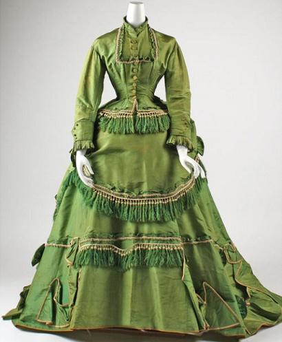 .: Vintage Fashion, Dresses 1868, 1860 S, 19Th Century, 1860S Fashion, Historical Fashion, Historical Clothing, Costume, Metropolitan Museums