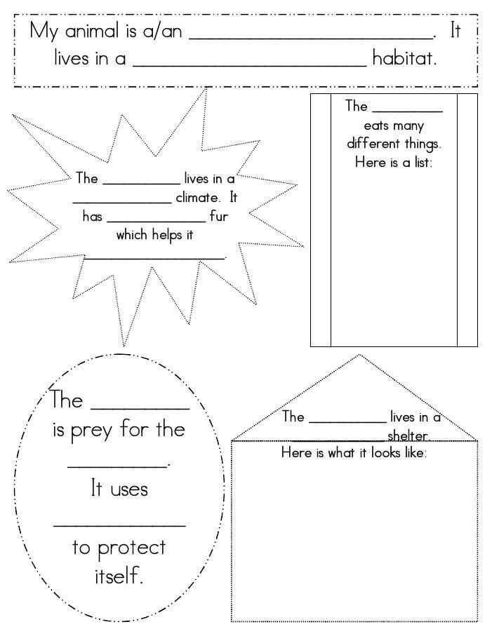 Animal Habitat.pdf Teaching science, Science classroom