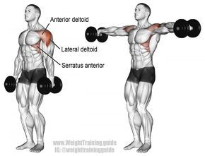 how to do a bent arm lateral raise