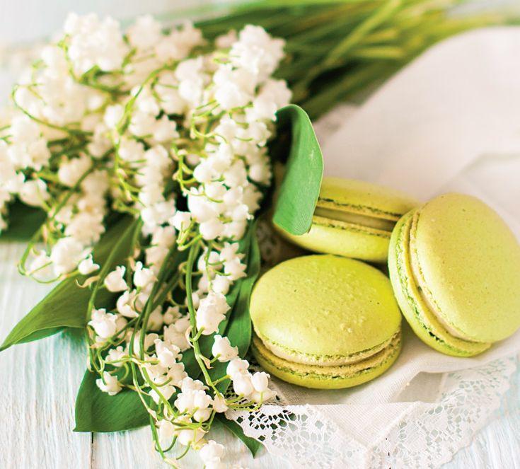 Macarons cu lămâie verde - Retete culinare - Romanesti si din Bucataria internationala