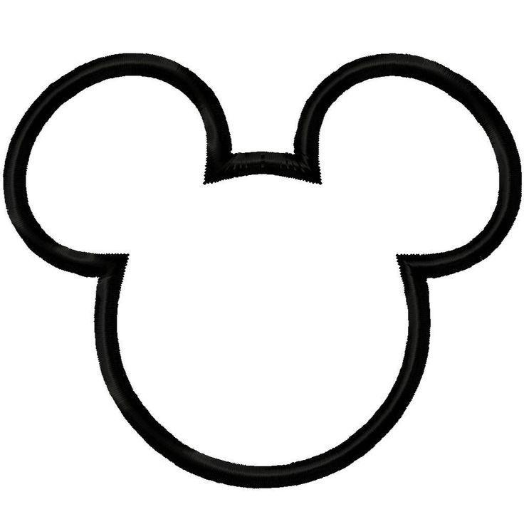 20+ Black Minnie Mouse Head Clipart