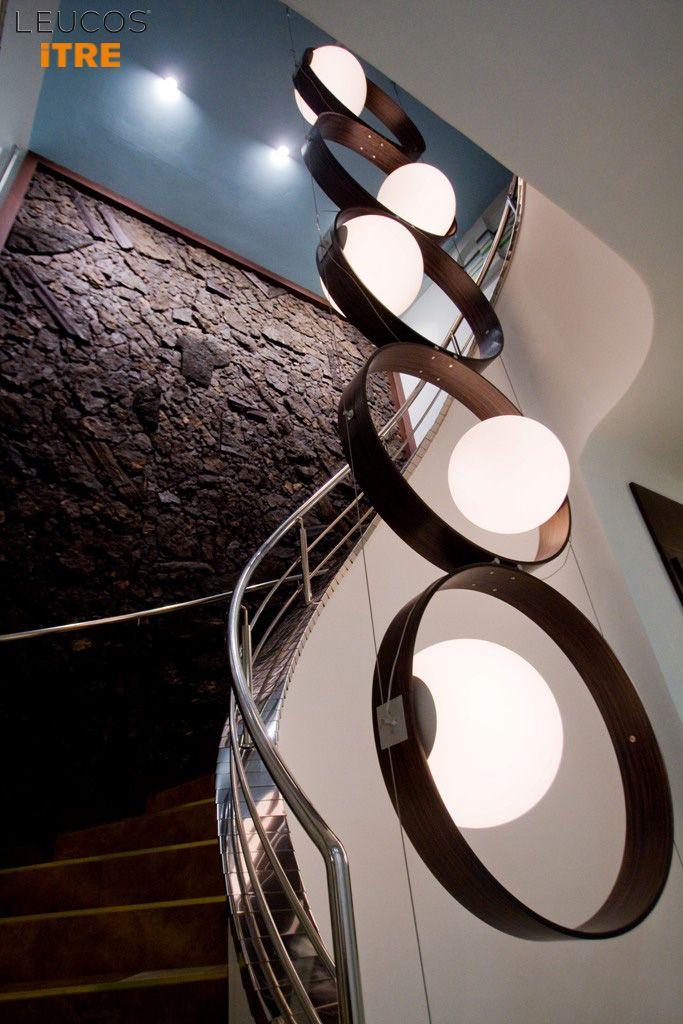 Leucos #Giukò by Works Studio: project for Upside Down Whisky & Steak House Bratislava, #Bratislava - Slovakia. Architect: Patricia Peskova. #Leucosproject #Leucoslovablelamps